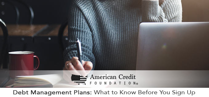 what to know about debt management plans