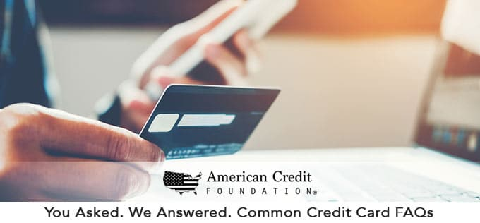 common credit card questions