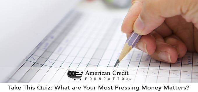 quiz: what are your most pressing financial matters?
