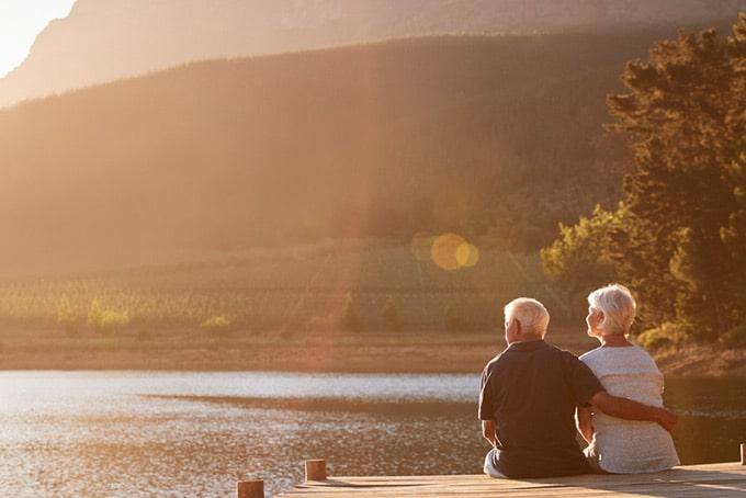 your retirement plan is set