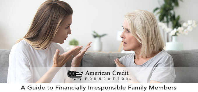 a guide to financially irresponsible family members