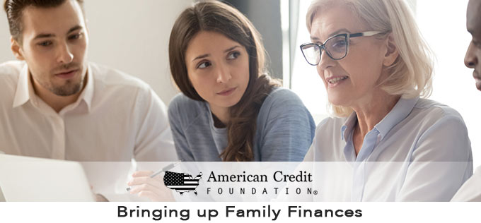 Bringing up Family Finances
