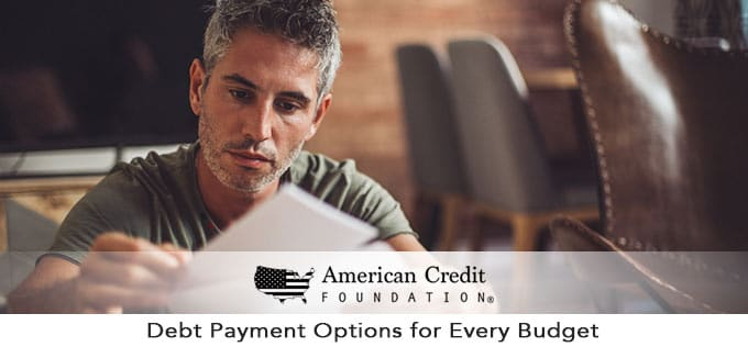 Debt Payment Options for Every Budget