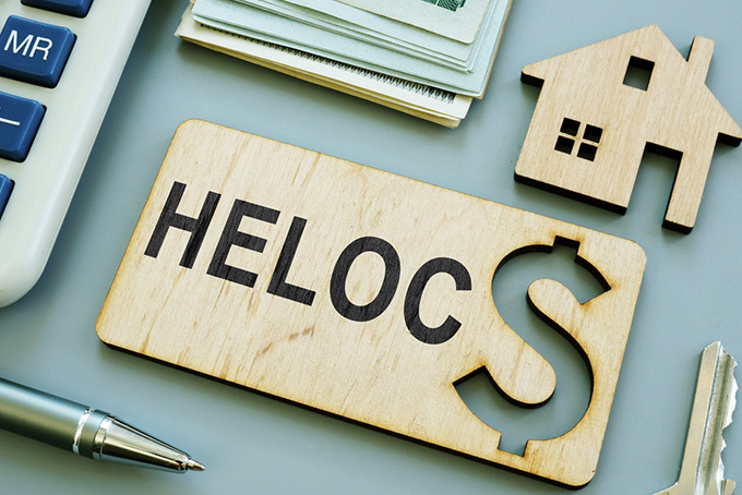 HELOC: home equity line of credit